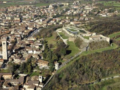Vista dall'alto della Rocca
