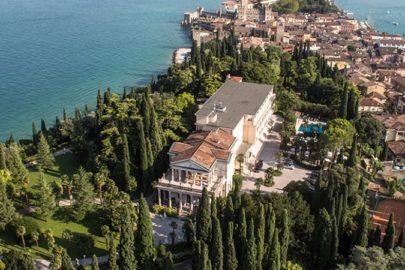 Immagine Villa Cortine dall'alto